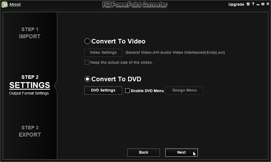 967ca9a71 PowerPoint Converter - how to convert PowerPoint to DVD.